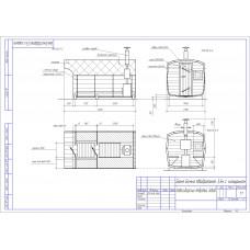 Баня-бочка из кедра круглая, длина 5 м , диаметр 2,1 м, толщина стенки 45 мм