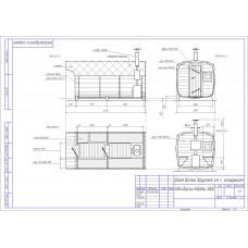 Баня-бочка из кедра квадратная, длина 4 м , диаметр 2,1 м, толщина стенки 45 мм