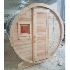Круглая Баня-Бочка 3 метра