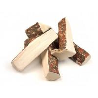 Керамические дрова. Ветки сосны колотые