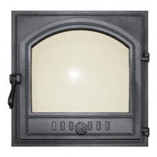Дверца каминная FIRE WAY 490х490  со стеклом К505