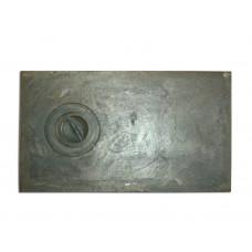 Плита чугунная 1-конф. П1-2, 410х710 (А)