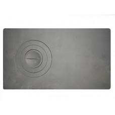 Плита чугунная 1-конф. П1- 2, 410х710 большая (Балезино)