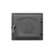 Дверца каминная Везувий 261 280х320,  (Антрацит)