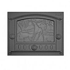 "Купить Дверца каминная ДК-2Б (435х332х92) 375х300х40, краш. RLK 325 ""Природа"" (Рубцовск)"