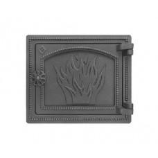 Дверца каминная Везувий ДТ-3 210х250 (Антрацит)