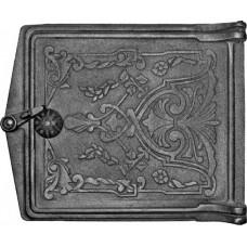 Дверца топочная ДТ-3, (291х230х67) 250х210х36 глухая, RLK 375 (Рубцовск)