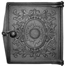 Дверца топочная ДТ-4, (291х296х67) 250х280х36 глухая, RLK 385 (Рубцовск)