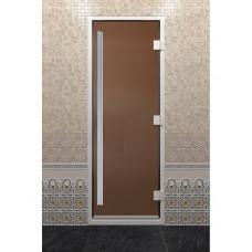 """Дверь стеклянная """"ХАМАМ ПРЕСТИЖ"""""""