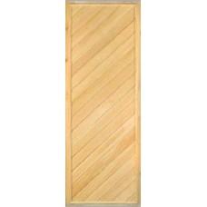 Дверь банная (липа) 1,70х0,70, М07 ЛЕВАЯ