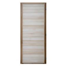 Дверь банная (липа) 1,70х0,70, ДГ-01 левая