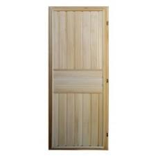 Дверь банная (липа) 1,70х0,70, ДГ-06 правая