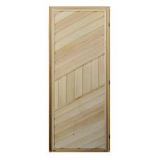 Дверь банная (липа) 1,70х0,70, ДГ-11 правая