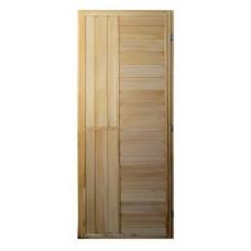 Дверь банная (липа) 1,70х0,70, ДГ-13, ЛЕВАЯ