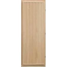 Дверь банная (липа) 1,70х0,70, М09 ЛЕВАЯ