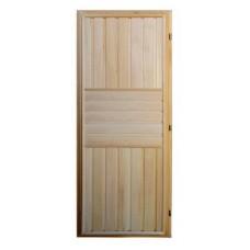 Дверь банная (липа) 1,70х0,70, М28 ЛЕВАЯ