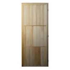 Дверь банная (липа) 1,70х0,70, М29 ЛЕВАЯ