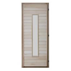 Дверь банная (липа) 1,80х0,70, ДС-13, ЛЕВАЯ