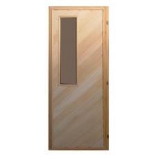 Дверь банная (липа) 1,90х0,70, ДС-11, ЛЕВАЯ