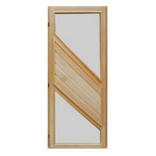 Дверь банная (липа) 1,90х0,70, ДС-01 Люкс, Левая
