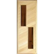 Дверь банная (липа) 1,90х0,70, сс М17 ЛЕВАЯ