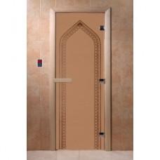 Купить Дверь стеклянная Дверь Арка бронза  в Белгороде