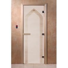 """Дверь стеклянная Дверь """"Арка Сатин"""""""