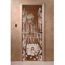 Купить Дверь стеклянная Дверь Волшебный пар бронза в Белгороде