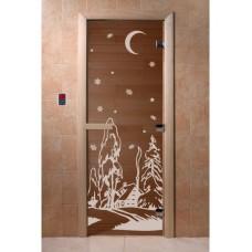 Купить Дверь стеклянная Дверь Зима бронза в Белгороде