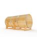 """Купить Кедровая бочка """"Горизонтальная"""" 80*200 см высота 103(150) см, толщина 40 мм"""