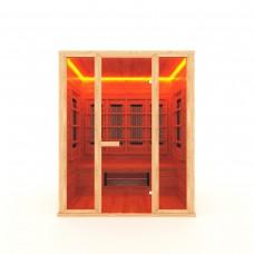 ИК Кабина керамика 3-местная прямая 180*105*200 см, вход со стороны 180 см