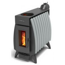 Купить печь отопительная Огонь Батарея 9 Антрацит Серый металлик купить в Белгороде