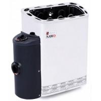 Печь электрическая Sawo MINI X MN-36NB-Z (3,6 КВТ, ВСТРОЕННЫЙ ПУЛЬТ, ВНУТРИ ОЦИНКОВКА, СНАРУЖИ НЕРЖАВЕЙКА)