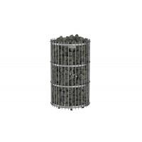 Печь электрическая Sawo ORION ORN-90NS-G-P (9 КВТ, ВЫНОСНОЙ ПУЛЬТ, НЕРЖАВЕЙКА, НАПОЛЬНАЯ)