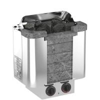 Печь электрическая Sawo CUMULUS CML-45NB-P (4,5 КВТ, ВСТРОЕННЫЙ ПУЛЬТ, ОБЛИЦОВКА – ТАЛЬКОХЛОРИТ)