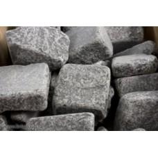 Камень для бани Габбро-диабаз 20кг (коробка)
