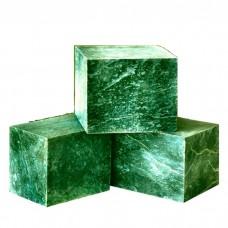 Камень для бани Нефрит кубики 10кг (ведро)