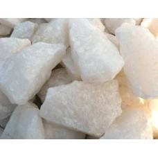 Камень для бани Кварц белый для электрокаменок 10 кг
