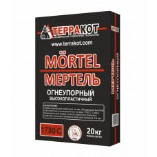 МЕРТЕЛЬ высокопластичный Терракот, 20 кг
